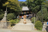 Shikoku hallowed ground 51 No. Fudasho Ishite-ji main hall Stock photo [4326146] Ishite-ji