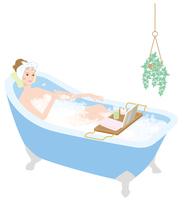 Women to bath time bathing [4393176] bathing
