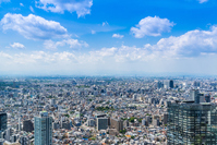 Tokyo blue sky and urban landscape Stock photo [4397203] Tokyo