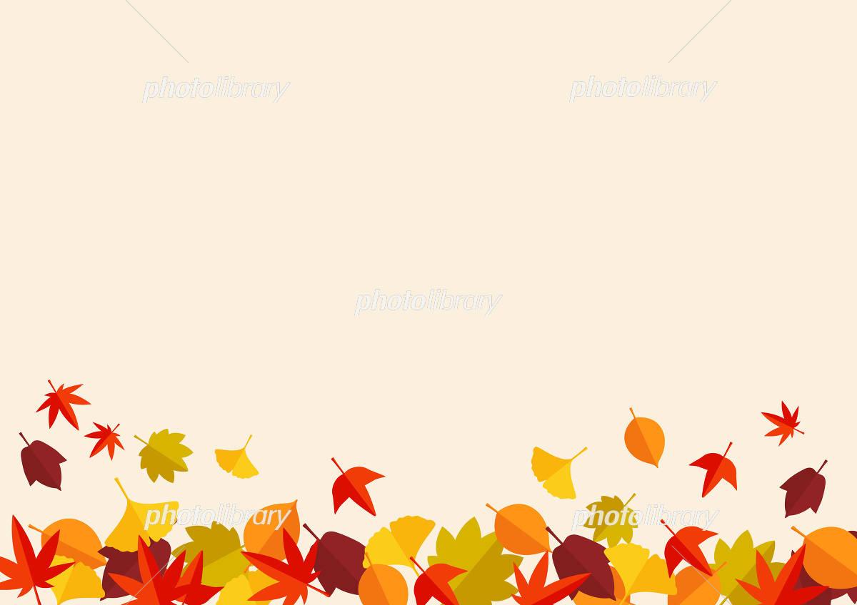 紅葉 落ち葉 背景 イラスト素材 4485730 フォトライブラリー