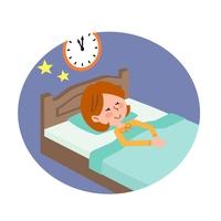 Sleeping woman [4473342] sleep