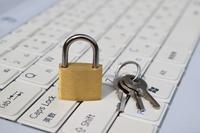 PC security image padlock Stock photo [4483446] Security