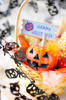 Halloween arrangement of pumpkin Stock photo [4561715] Halloween