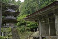 Myōtsū-ji main temple pagoda national treasure Fukui Obama Stock photo [4562301] Myōtsū-ji