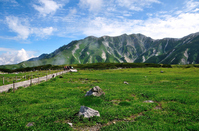 Toyama Prefecture Tateyama Kurobe Alpine Route mountains in summer Murodo Tateyama Stock photo [4562563] Tateyama