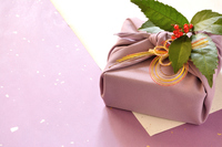 Purple wrapping cloth wrapping paper background Stock photo [4563735] Wrapping