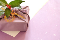Purple wrapping cloth wrapping paper background Stock photo [4563742] Wrapping