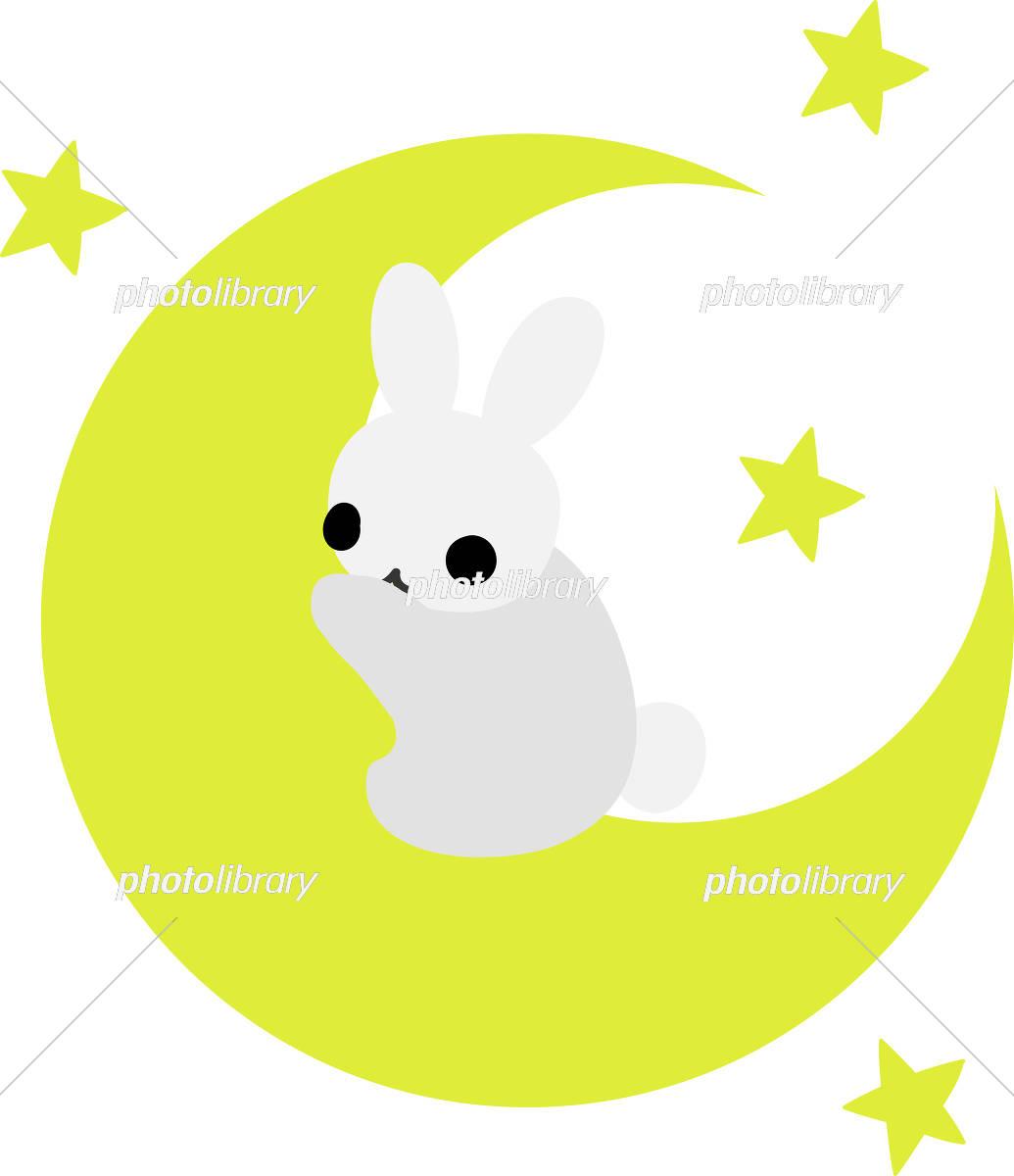 可愛いウサギのイラスト