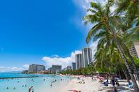 [Hawaii] Honolulu Waikiki Beach Stock photo [4622850] Honolulu