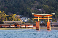 At Miyajima Itsukushima Shrine Ferry Stock photo [4623422] Itsukushima
