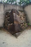 Okayama Castle stone wall of Ukita Mr. era Stock photo [4627781] Okayama