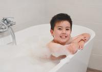 Boy of bath time Stock photo [4630375] bathing