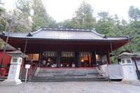 Nikko Futarasan Shrine Hongu hall of worship Stock photo [4694321] sunlight
