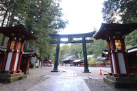 Nikko Futarasan Shrine Hongu Stock photo [4694359] sunlight