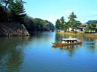 Matsue Castle moat River tour Stock photo [8319] Shimane