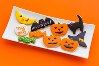 Halloween of icing cookies Stock photo [4755249] Icing