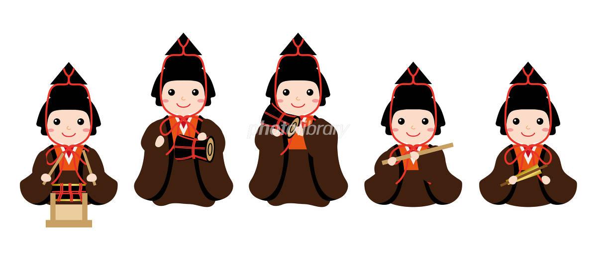 雛人形 五人囃子 イラスト素材 4836577 フォトライブラリー