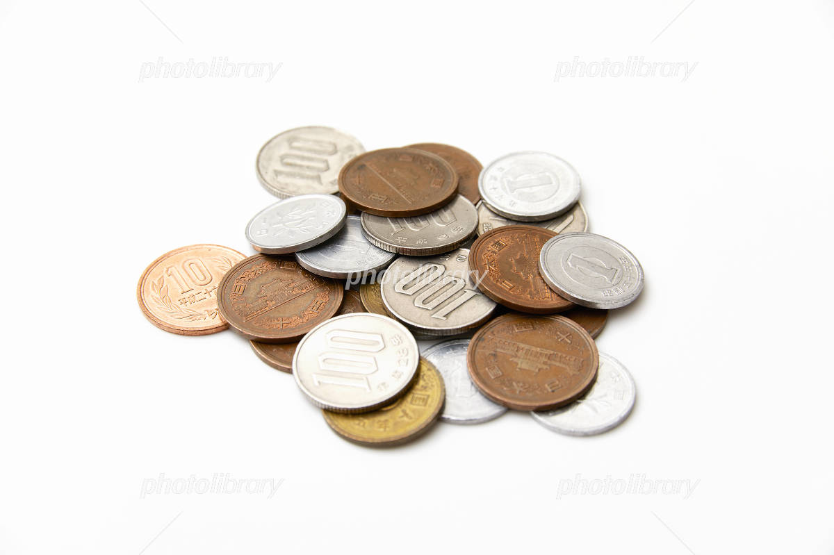 Japanese Yen coins Photo