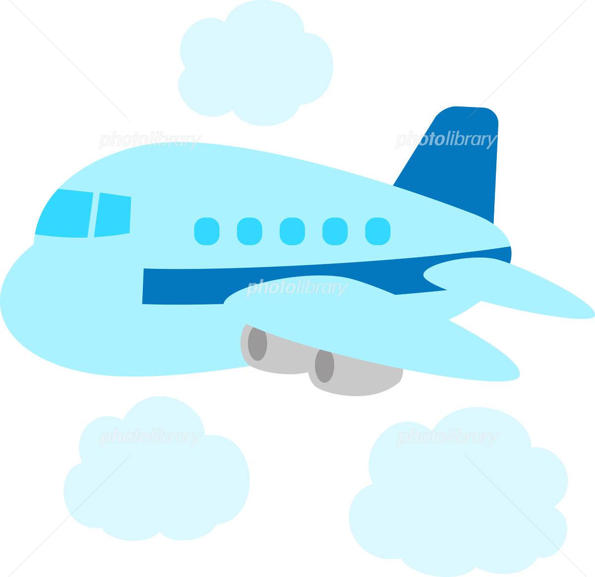 かわいい飛行機 イラスト素材 4844982 フォトライブラリー