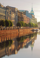 Streets along the St. Petersburg canal Stock photo [4836218] St.