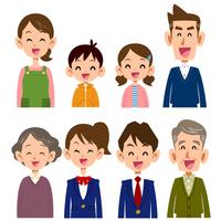 Smile of family [4837248] family