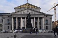 ドイツ ミュンヘン マックスヨーゼフ1世の像