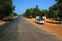 ミャンマーの道