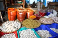 ミャンマーの市場のスパイス