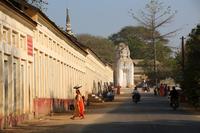 ミャンマーのシュエジゴン・パゴダ