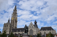 Notre Dame Cathedral Stock photo [4951186] Belgium