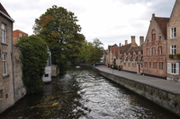 Bruges historical district Stock photo [4954037] Belgium