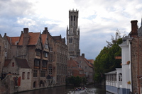 Bruges historical district Stock photo [4954039] Belgium