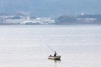 Matsue Lake Shinji freshwater clam fishing Stock photo [4954769] Freshwater