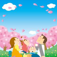Cherry-blossom viewing [4956063] Cherry-blossom