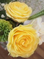 Bouquet of yellow roses Stock photo [4957318] Father's