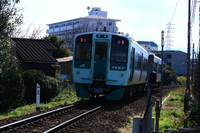 Mugi Line railcars local line Stock photo [4959029] Mugi