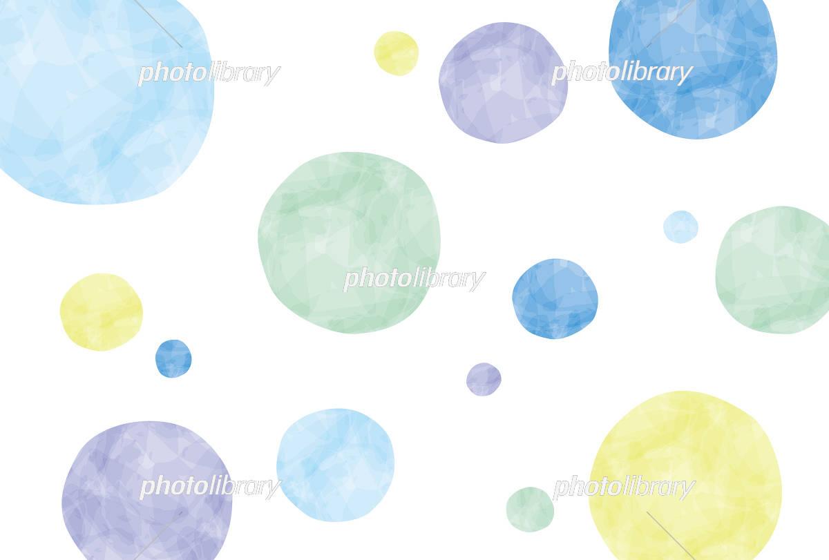 夏のイメージ 水玉 イラスト素材 5047443 無料 フォトライブラリー