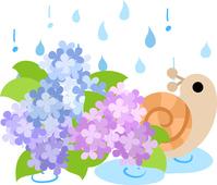 Cute snail illustration [5045791] An