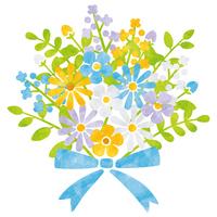 Bouquet / Blue series [5047414] flower