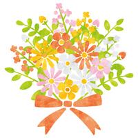 Bouquet / red series [5047419] flower