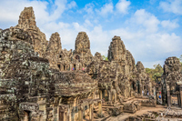 Cambodia, Angkor Wat ruins (Bayon temple in Angkor ? Tom) Stock photo [5055079] Cambodia