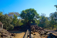 Cambodia, scenery of Ben Melia ruins Stock photo [5055115] Cambodia