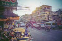 Landscape of the city of Phnom Penh, the capital city of Cambodia Stock photo [5055181] Cambodia