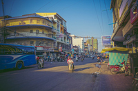 Landscape of the city of Phnom Penh, the capital city of Cambodia Stock photo [5055185] Cambodia