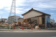 Collapsed house Stock photo [163909] Niigata