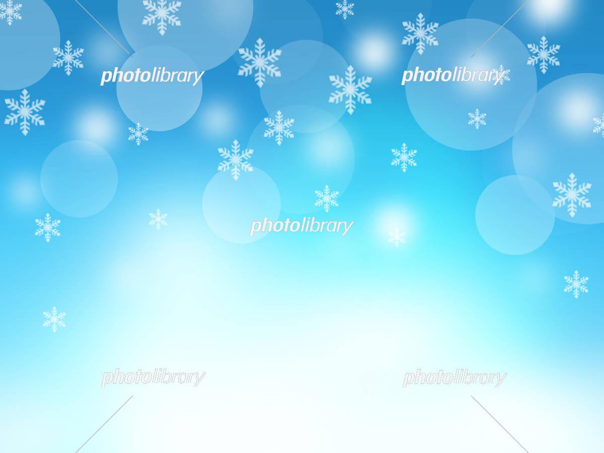 クリスマス クリスマス背景 雪の結晶 イラスト素材 [ 5226209 ] - フォト