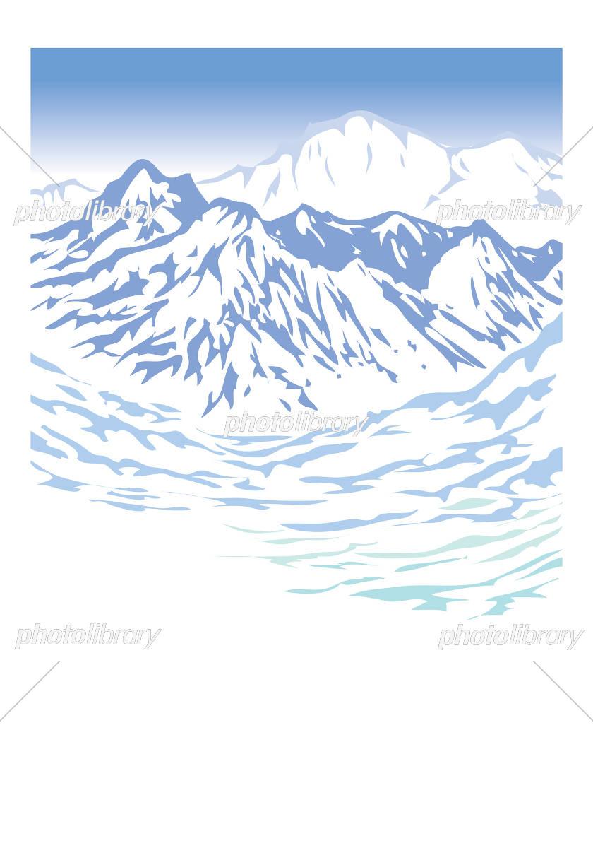 雪山賛歌 イラスト素材 5232395 フォトライブラリー Photolibrary