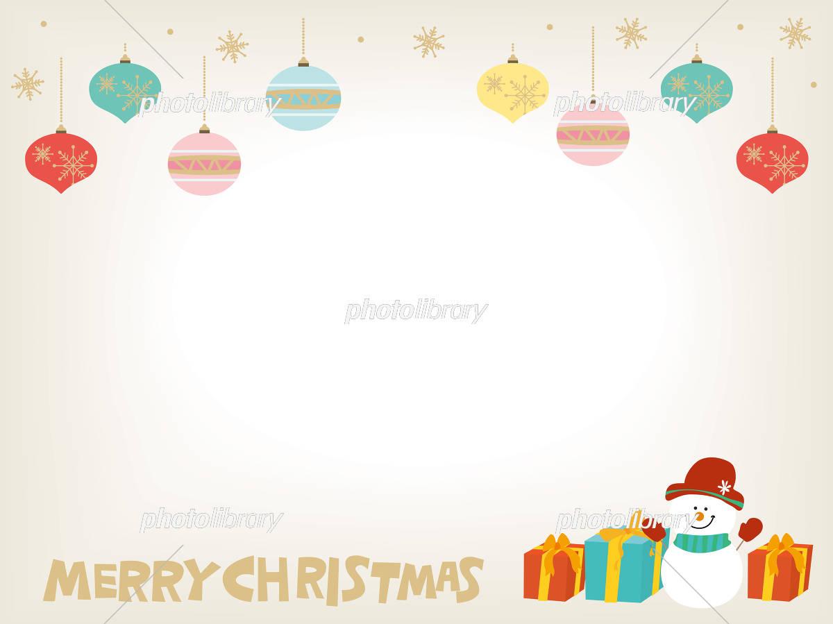 クリスマス オーナメント イラスト イラスト素材 5232495 フォト