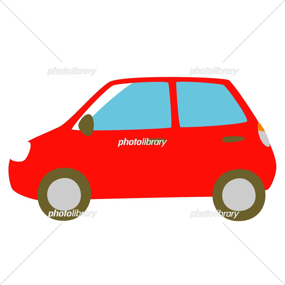 赤い車 側面 イラスト素材 [ 5327179 ] - フォトライブラリー photolibrary