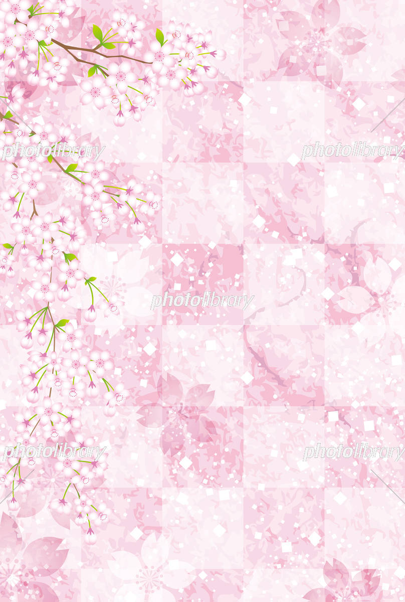 桜 さくら 背景 素材 イラスト素材 5327582 フォトライブラリー